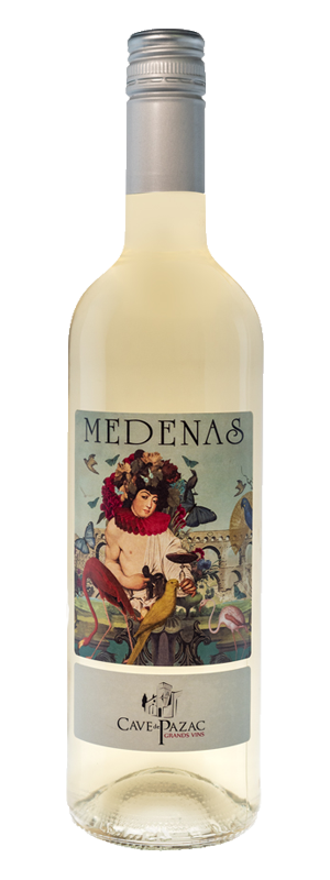medenas blanc grands vins pazac