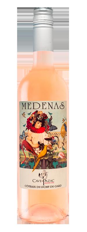 medenas rose grands vins pazac