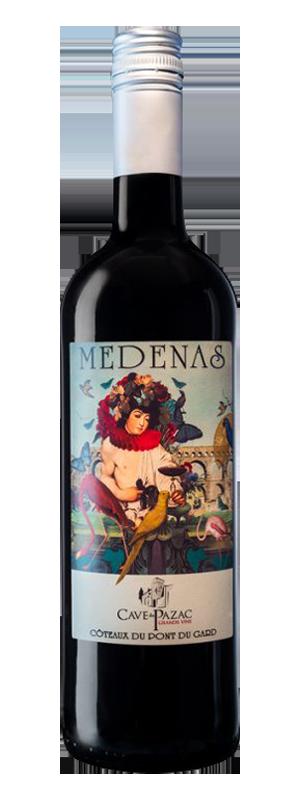 medenas rouge grands vins pazac